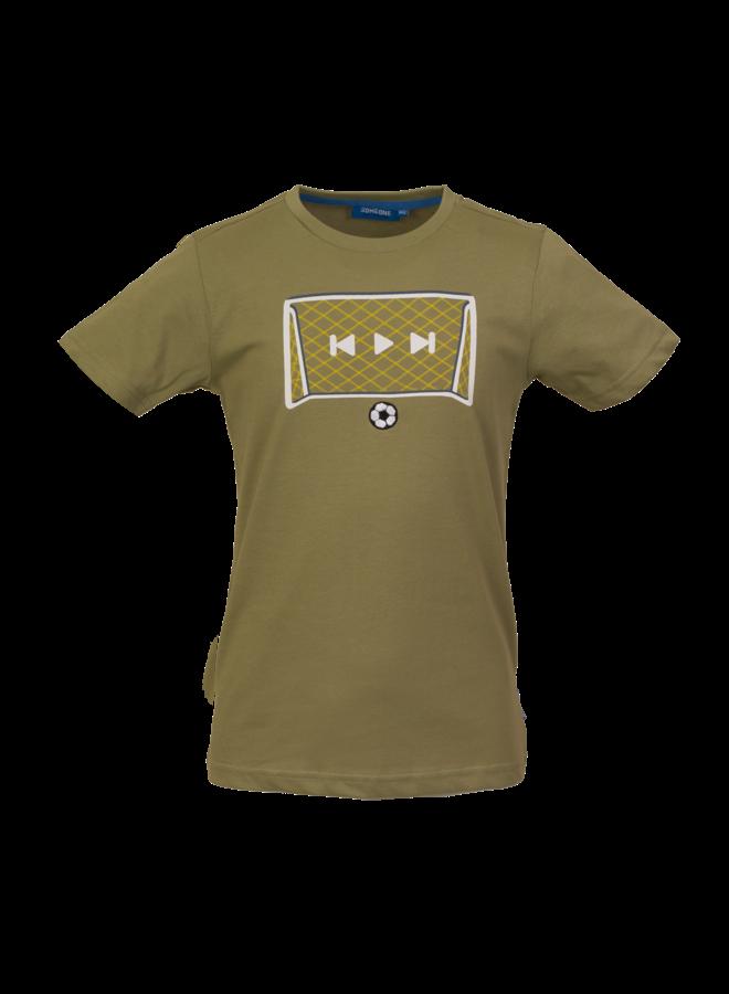 T-shirt Score - Light Khaki