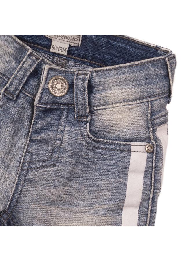 Koko Noko - Boys Jeans Shorts - Blue Jeans SS21