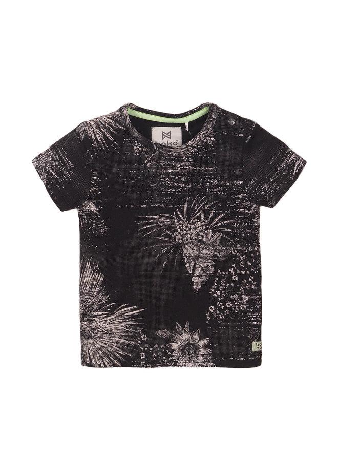 Boys T-shirt SS - Cactus Dark Grey SS21
