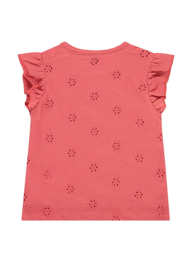 Girls T-shirt Short Sleeve - Raspberry SS21
