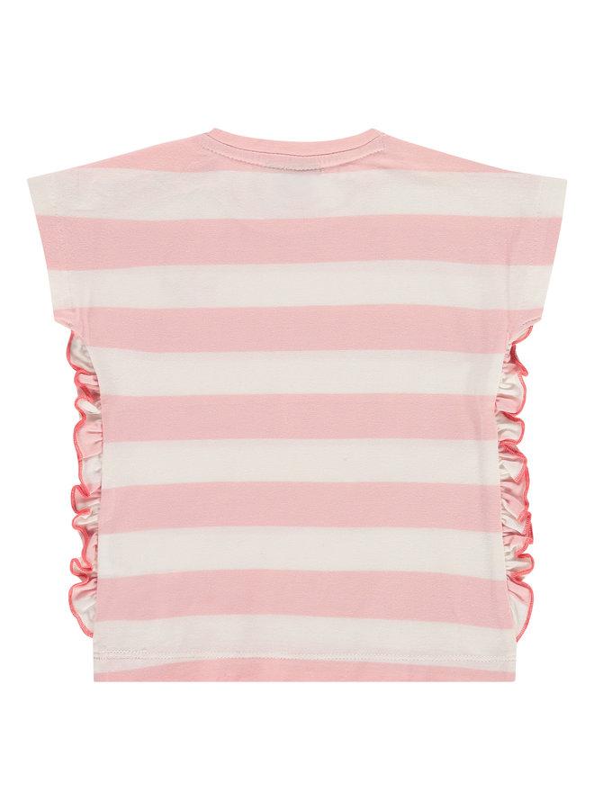 Girls T-shirt Short Sleeve - Blush Pink SS21