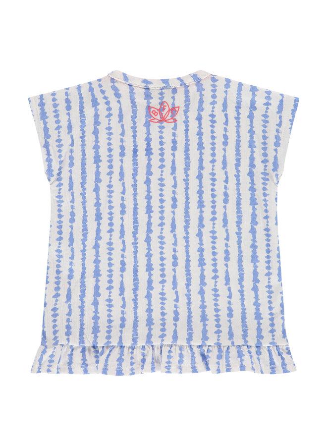 Girls T-shirt Short Sleeve - Lavender Blue SS21