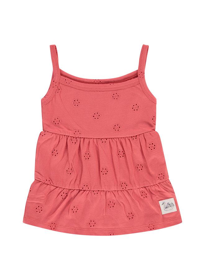 Girls Dress - Raspberry