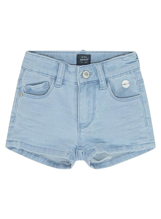 Girls Jogg Jeans Short - Light Blue Denim SS21