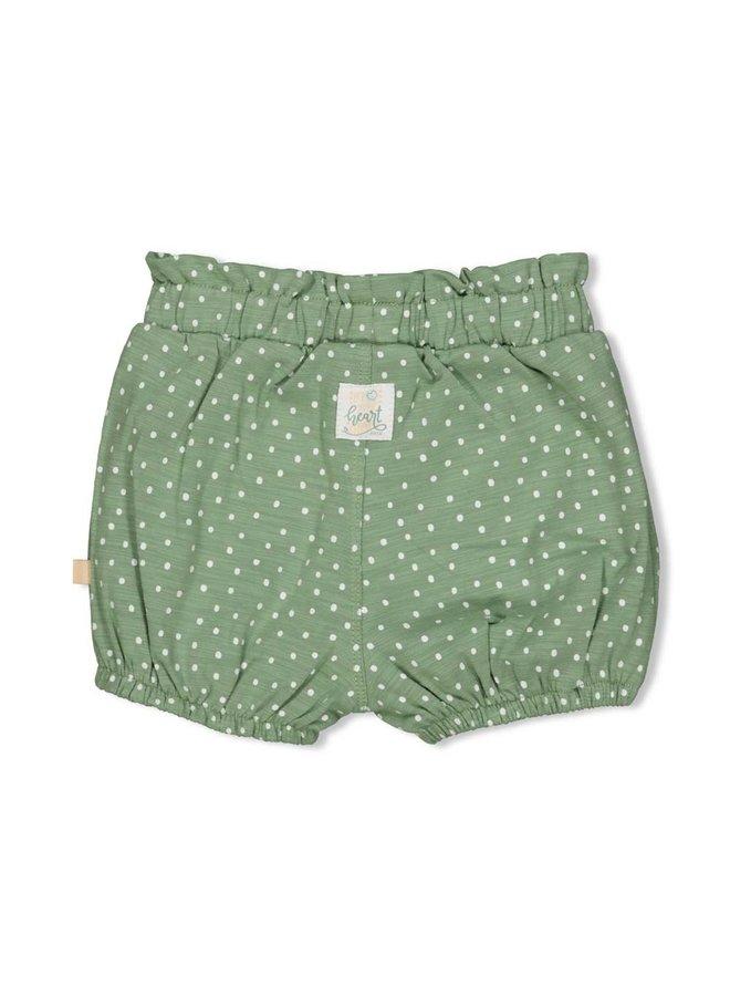 Short AOP - Hearts - Groen
