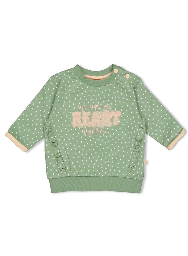 Sweater AOP - Hearts