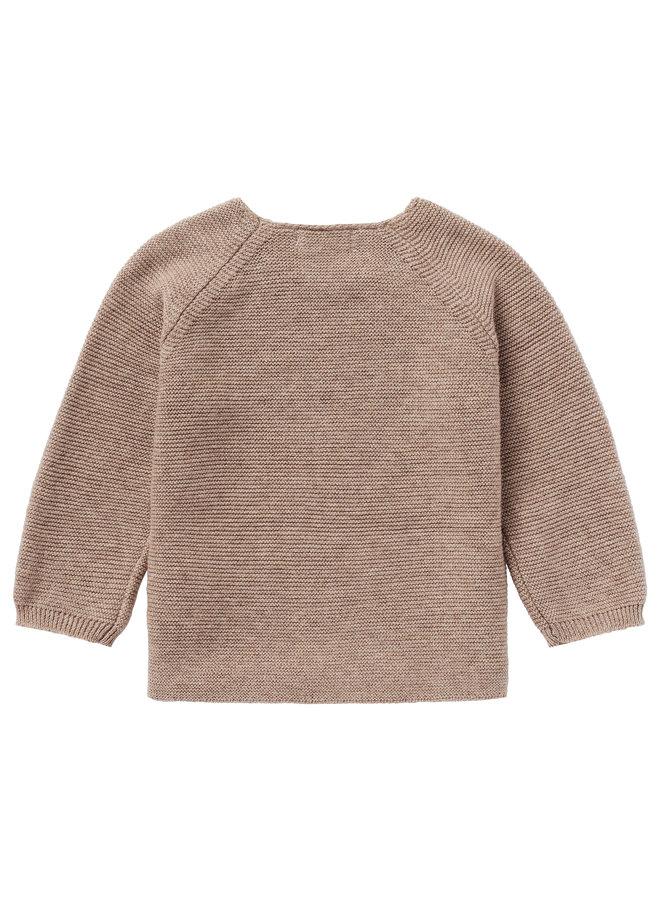 Noppies- Cardigan Knit ls Pino - Taupe Melange