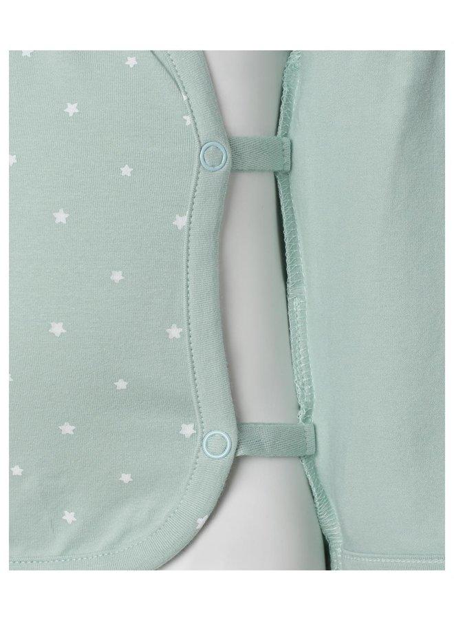 Noppies - Tee ls Anne AOP - Grey Mint