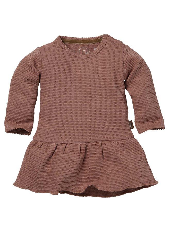 Levv Newborn - Baukje - Dress - Mauve