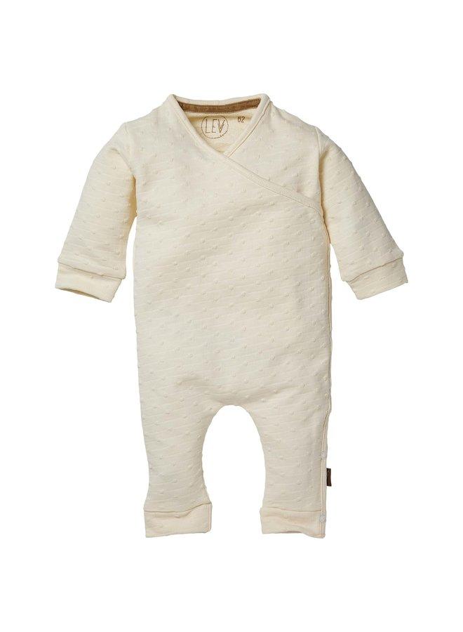 Levv Newborn - Birdie - Playsuit - Off White