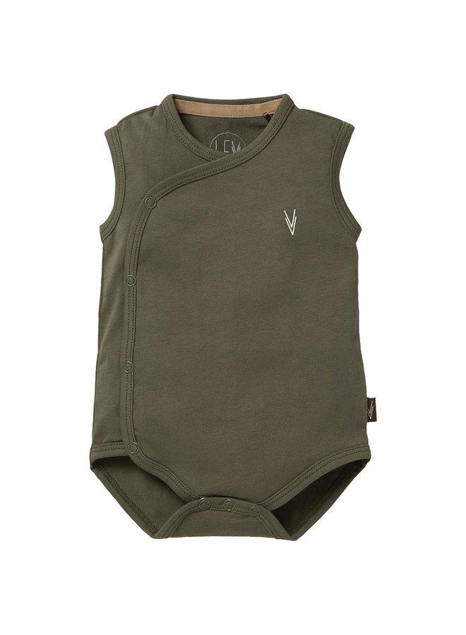 Levv Newborn - Boaz - Bodysuit - Green Olive