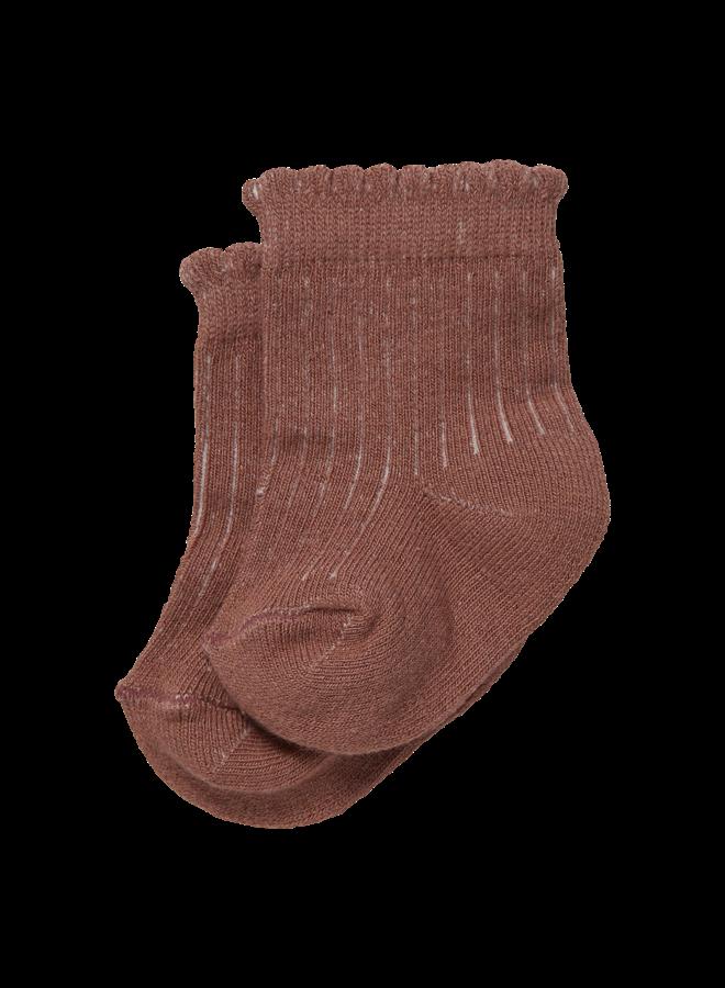 Levv Newborn - Brooke - Socks - Mauve