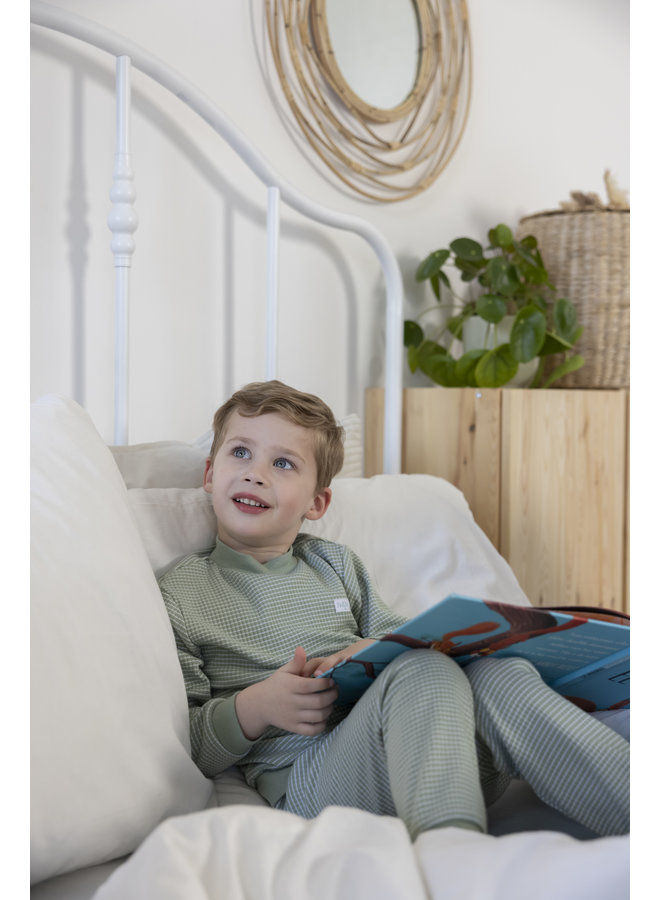 Feetje - Pyjama wafel - Summer Special - Groen