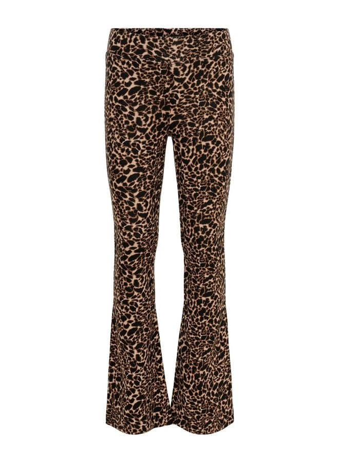 Paige Flared Pant AOP - Ginger Root