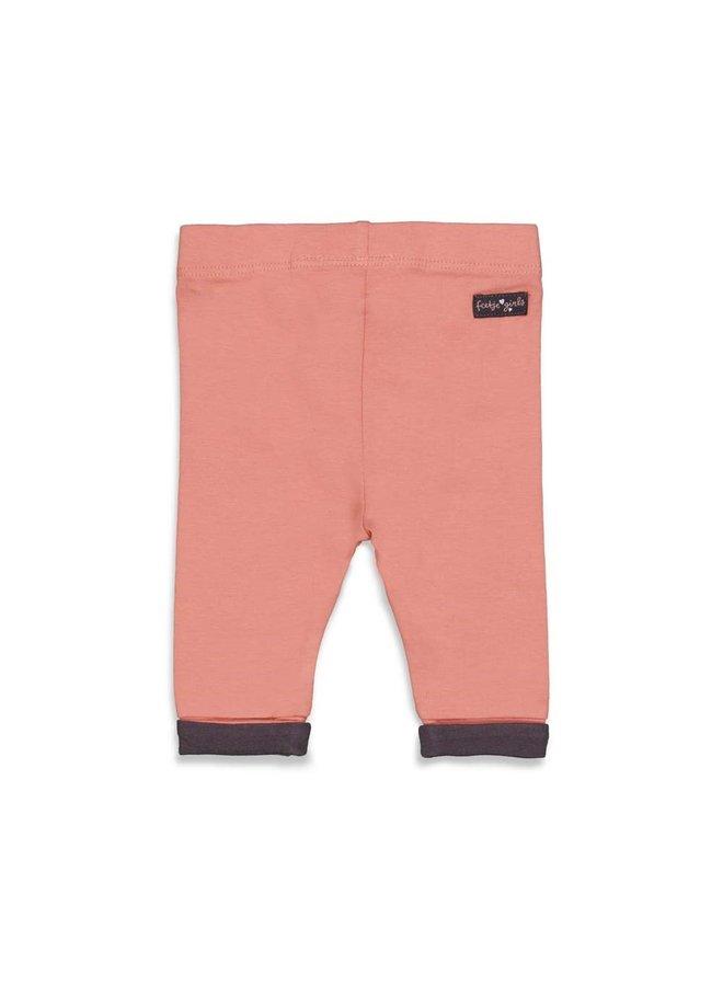 Feetje - Legging - Full Of Love - Terra Pink