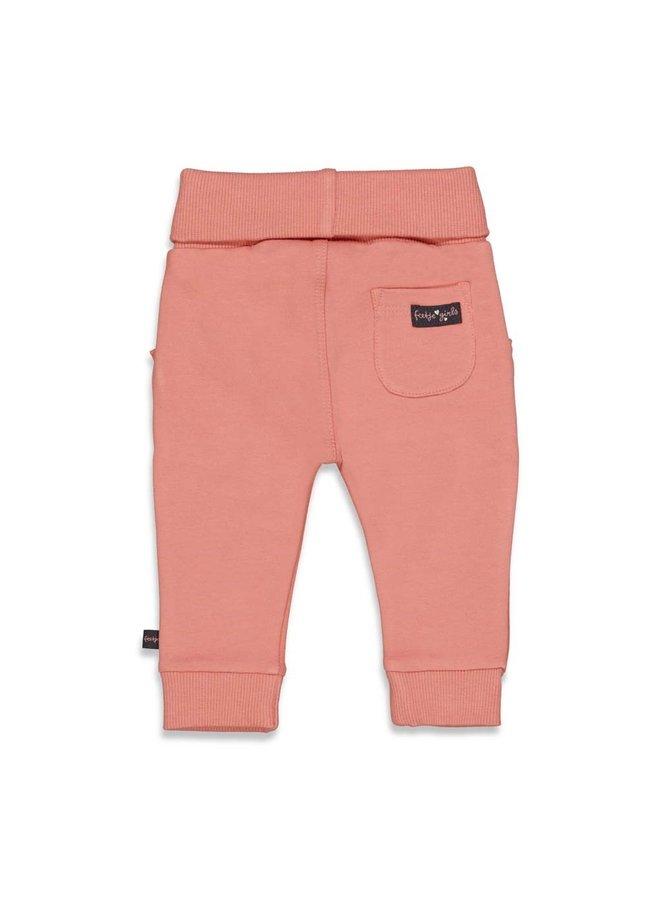 Feetje - Broek - Full Of Love - Terra Pink