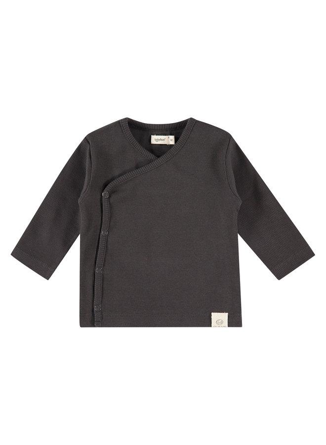 Baby T-shirt Long Sleeve - Ebony
