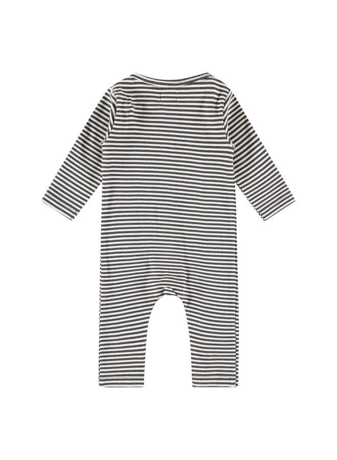 Babyface - Baby Suit Stripe - Ebony