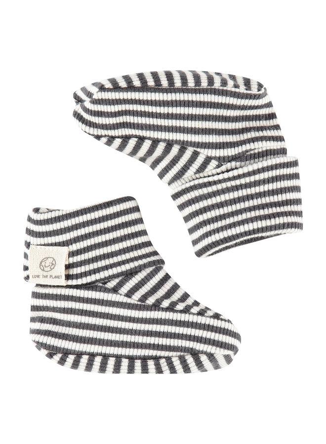 Babyface - Baby Slippers - Ebony