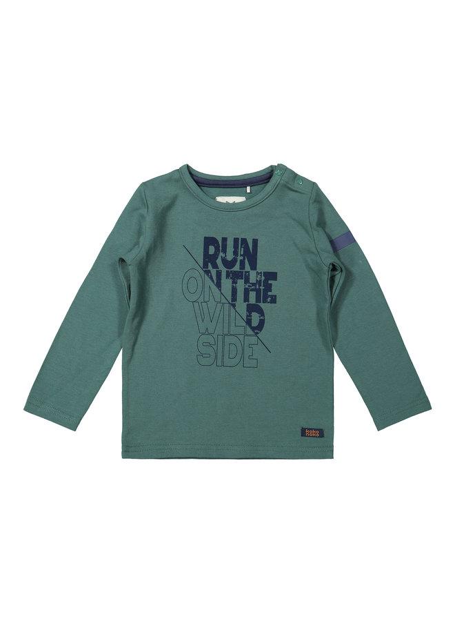 Boys - T-shirt ls - Green