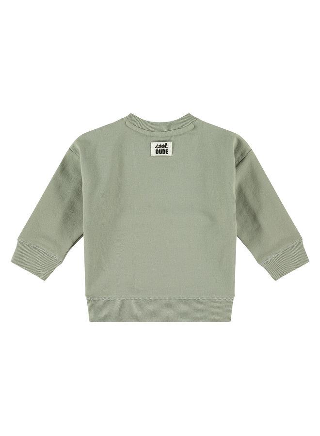 Babyface - Boys Sweatshirt - Faded Green