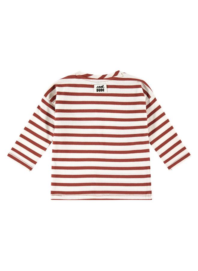 Babyface - Boys T-shirt Long Sleeve - Stripe - Mahony