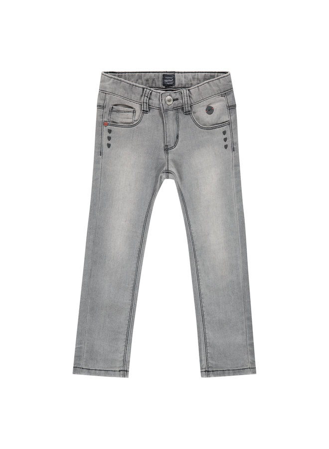 Babyface - Girls Jogg Jeans - Mid Grey Denim
