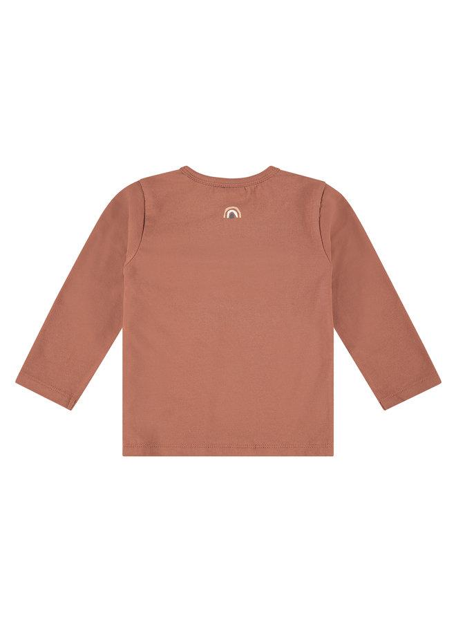 Babyface - Girls T-shirt Long Sleeve - Terra Pink