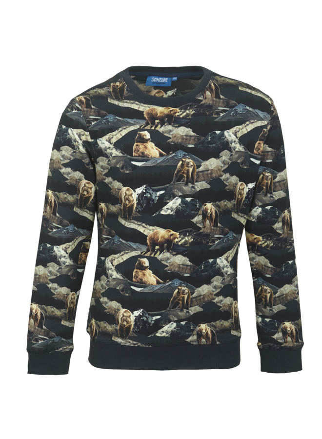 Someone - Hike - Sweater - Navy