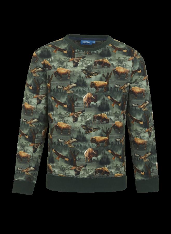 Someone - Loup - Sweater - Dark Green
