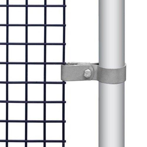 Gaasmontagebeugel enkel / hoek voor buis Ø4,8 cm