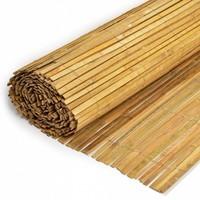 Gespleten Bamboemat op rol H100 x L500 cm