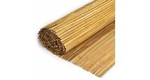Gespleten Bamboemat H100 x L500 cm