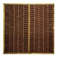 Wilgenscherm Premium H90 x B180 cm - in houten frame