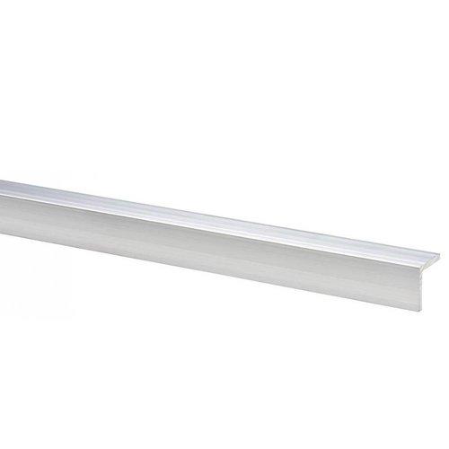 Aanslag voor tuindeur - Aluminium 2 x 2 x 200 cm