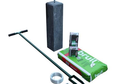 Bevestigingsmaterialen betongaas schutting