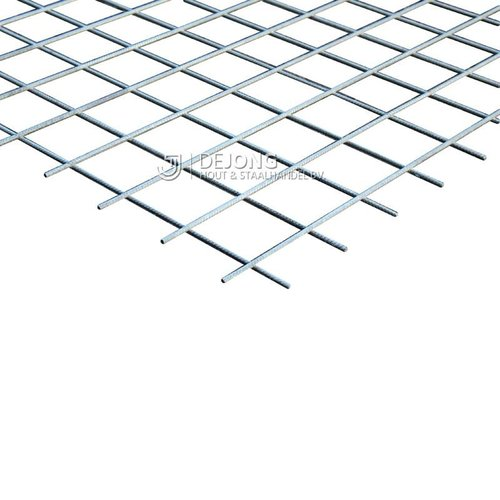 Bouwstaalmat PS196a Ø5-100 2 x 3 meter Gegalvaniseerd