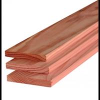 Douglas plank gedroogd & geschaafd 1,6 x 14 cm