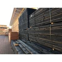 Zwarte potdekselplank ca. 2 x 20 x 400 cm