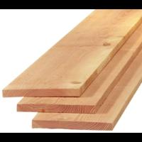 Lariks Douglas plank / steigerplank  2,5 x 25 x 400 cm
