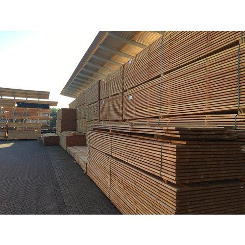 Lariks Douglas steiger plank ca. 2 x 20 cm x 400 cm