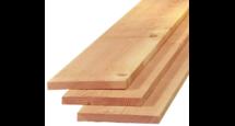 Lariks Douglas steiger plank ca. 2 x 20 cm x 500 cm
