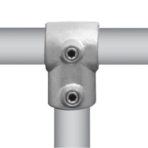 Buiskoppeling T-stuk kort Ø4,8 cm