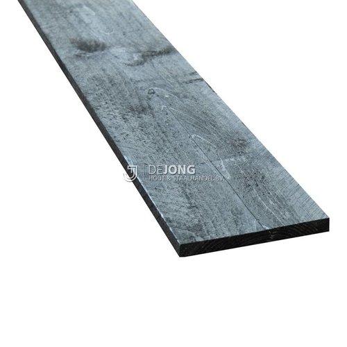 Zwarte steigerplank ca. 3 x 20 x 500 cm