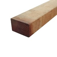 Hardhouten regel 4.5 x 7 x 300 cm - geschaafd