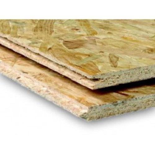 OSB vlokkenplaat - TG2 veer en groef lange zijden - 1.8 x 122 x 244 cm