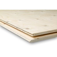 Underlayment plaat - TG2 lange zijden veer en groef - 1.8 x 122 x 244 cm