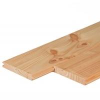 Douglas vellingdelen dakbeschot 1.6 x 11,6 cm
