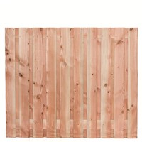 Lariks Douglas tuinscherm Zwarte Woud H150 x B180 cm - 19 planks