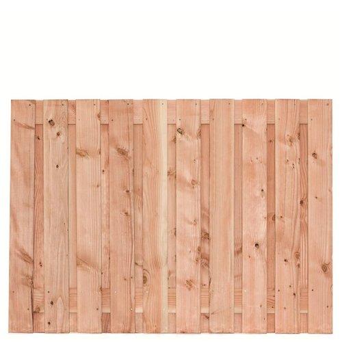 Lariks Douglas tuinscherm Zwarte Woud H130 x B180 cm - 19 planks